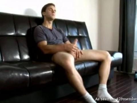 naughty juvenile Male stroking His huge rod - Jerk