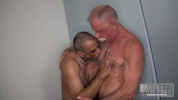 Silvers Daddies bang Hard raw