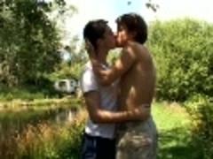 horny Outdoor nudeback Sex