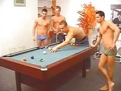 delicious Billiard Players spermy Sex
