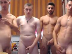 4 slutty Romanian boyz, Hard dicks & slutty buttholes