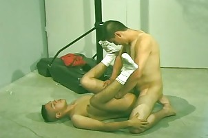 dirty Hispanic boys receives On His Knees For sperm
