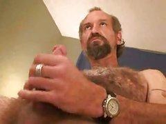 aged Bear Solo Masturbating enjoyment