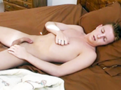 dude in masturbates in shower and in daybed