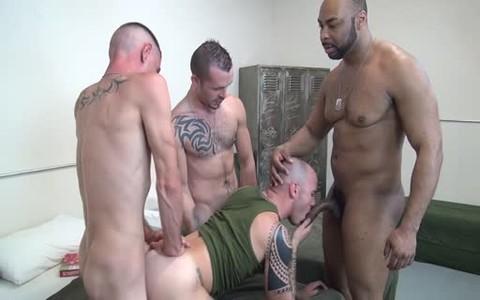 bare Barracks 4some