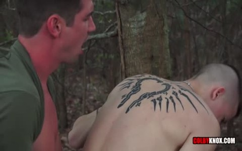 Army chap Seduces The Soldier