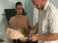 Doctor Doctor homosexual Porn homosexuals homosexual semen flows drink man Hunk