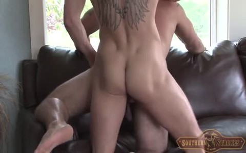 large cock blonde bangs Buddy