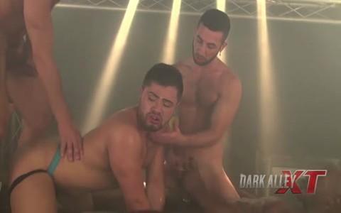 Piggy Takes Three raw cocks