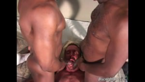 hairy Middle aged chap gets nailed By Blacks