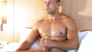 Full video: A nice innocent str8 man Serviced His large dick By A man