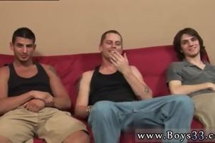 Straight boyz giving a kiss Gallery homo Right Away, Vinnie Had His