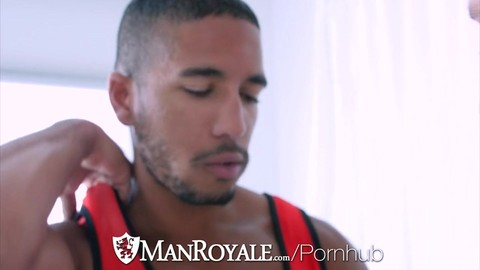 ManRoyale - Olympic Fucker Paul Cannon pounds Mike Maverick