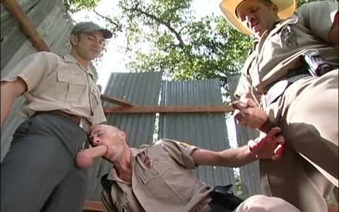 Ranger And Cops nail: Dillon Buck Dane Hyde Brodie Newport