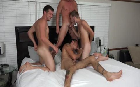Four Bros pounding