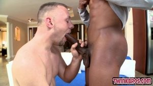 cute twinks Home oral-job