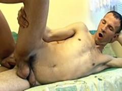 Two boys swap Tthellos guyir thick spermy Loads