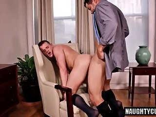 large weenie gays oral-service-stimulation And Creampie