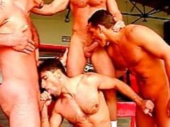 fine men Having gangbang pokeing And Masturbating