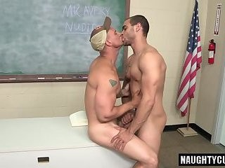 large penis homo booty stab And Facial