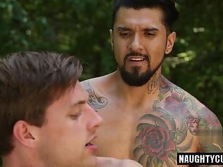 Latin Son anal invasion With cumshot