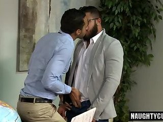 Latin homosexual studs fellatio And Facial