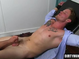 Muscle gays Foot And spunk flow