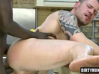 Muscle gays anal sex And Facial love juice