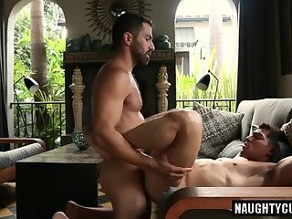large 10-Pounder twink ass sex With sex cream flow