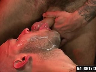hairy rod anal job With Facial cum