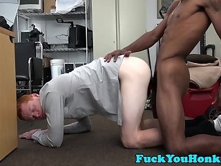 Ginger Straightys wazoo Stretched Out By BBC