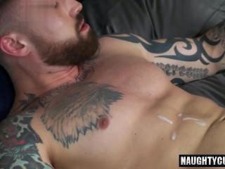 oriental gay anal job With Facial