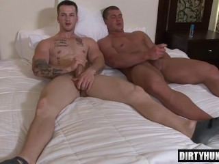 Muscle gay anal job And sex cream flow