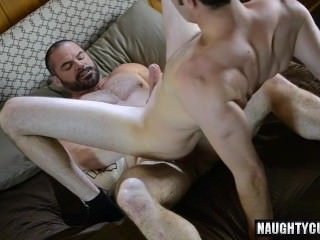 gigantic penis gay oral-service sex And sex cream flow