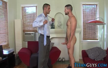 pumped up Beefcake Hunky Muscle Employee receives Assed Creamed From His Boss