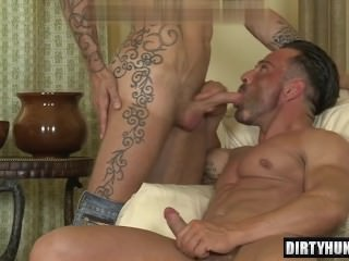 Muscle homo butthole bang With Facial