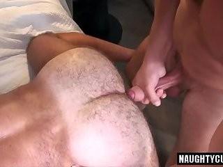 gigantic penis homosexual ass sex And sperm flow