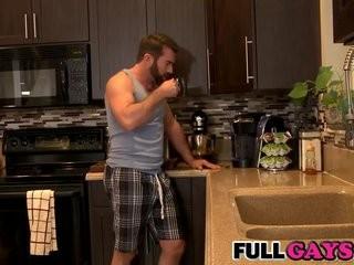 Bearded guys gay pair  Fullgays