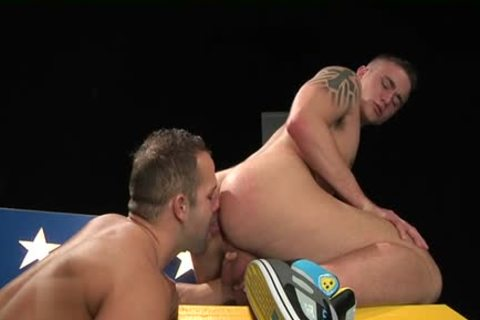 Muscle gay extraordinary fuck And spunk flow