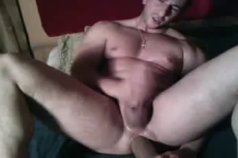Massimiliano - enormous Muscle, enormous Dildos
