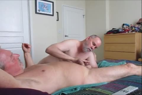 Stroking And sucking another sexy-Waxed Wad From Farmer K.