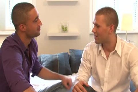 bulky dick bald Bum plowing Fubb With ejaculation - BoyFriendTVcom
