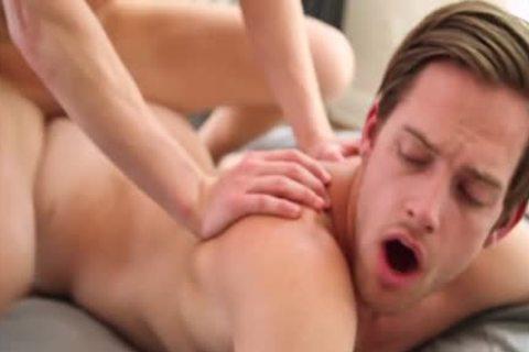 Muscle Son Flip Flop With cumshot