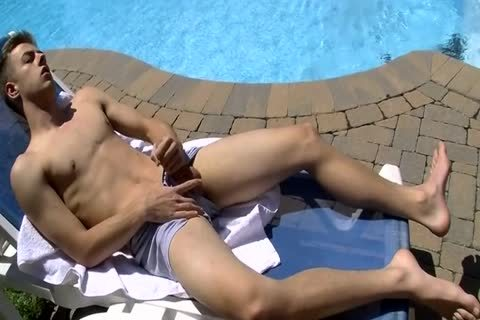 Poolside Wanker  Free homosexual HD bang videos clip Ad - XHamster
