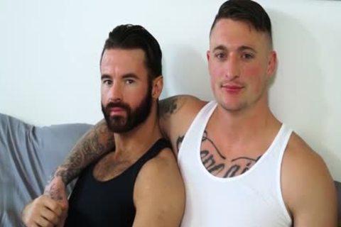 Muscle non-professional bareback And Creampie