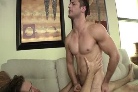 Muscle gay anal job With sex cream flow