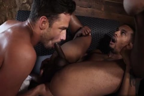 large cock Bottom oral-service With cumshot