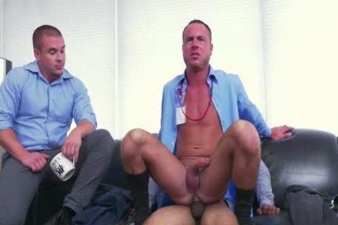 Latin gay fake penis And Facial