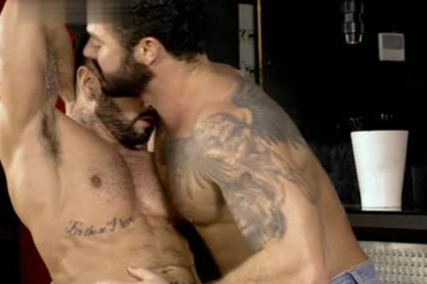 Muscle homosexual oral With ejaculate flow