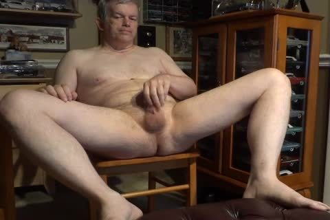 naked 60 Year daddy Daddy Masturbating